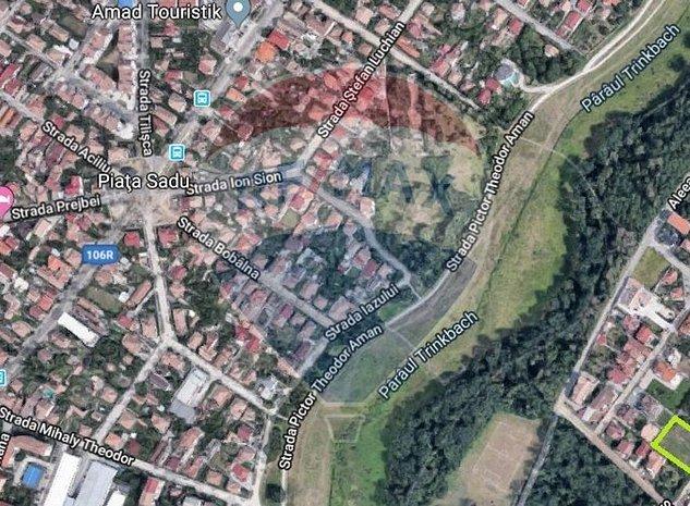 Teren de vanzare Sibiu Calea Dumbravii  / Strada Costache Negri - imaginea 1