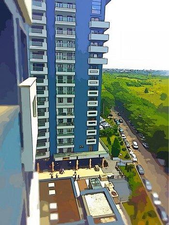 Apartament spatios 3 camere, vedere catre lac, parcare si boxa incluse - imaginea 1