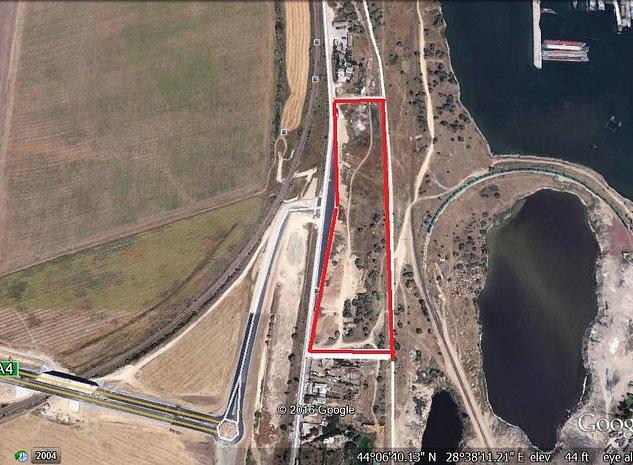 teren intravilan industrial Agigea zona libera - imaginea 1