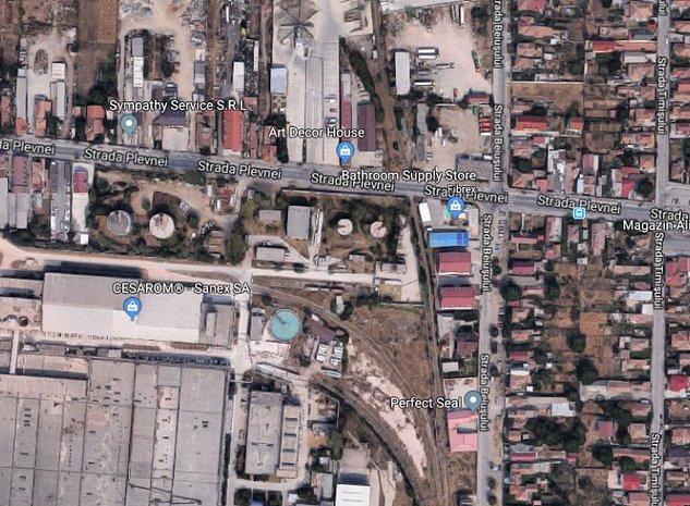 Teren pretabil pentru constructii industriale si comerciale  - imaginea 1