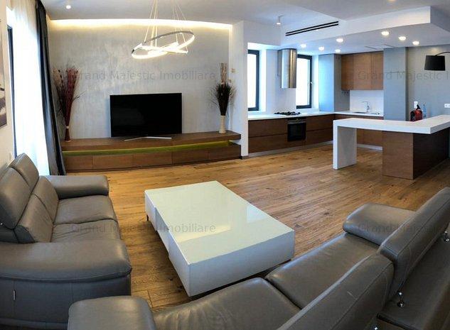 Aviatiei Luxury Penthouse 6 Rooms Panoramic View  - imaginea 1