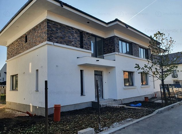 Vila Duplex Pipera 4 camere 250 mp teren finisat - imaginea 1