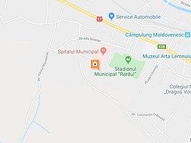 Licitaţie teren faneata, în Câmpulung Moldovenesc