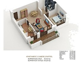 Apartament de vânzare 2 camere, în Bucureşti, zona Mihai Bravu