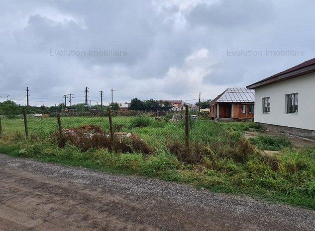 Utvin - locatie buna - 736 mp - utilitati in fata - 55000 Euro - imaginea 1