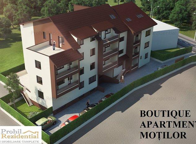 Penthouse 3 CAMERE - Boutique Apartments Motilor - 2 min metrou Mihai Bravu - imaginea 1