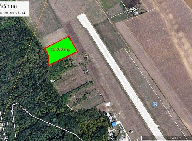 Teren 13200 MP iNTRAVILAN Tatarasi zona Aeroport   - imaginea 1