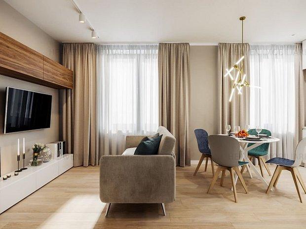Apartament decomandat, bloc nou- 6minute metrou Dristor - imaginea 1