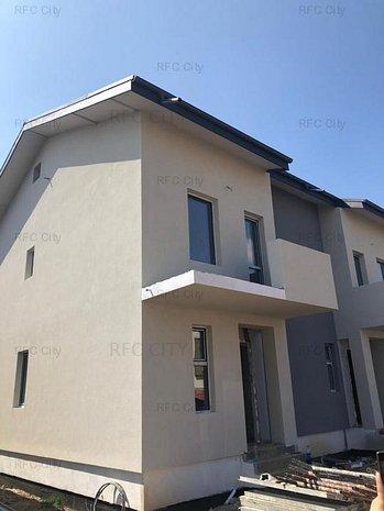 Vila P+1+M, 4 camere, mansarda open space 40 mp, finisaje de calitate - imaginea 1