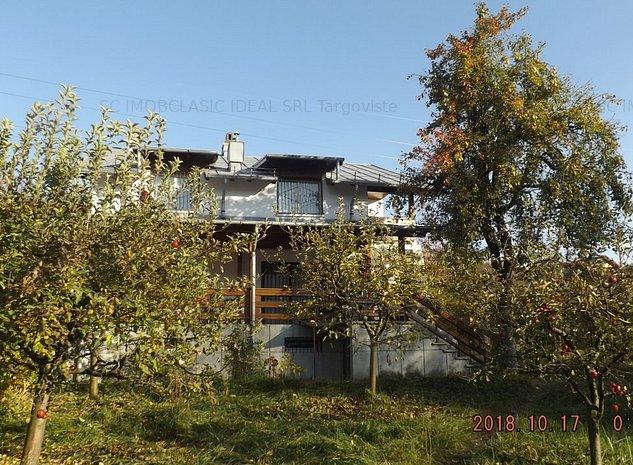 Vanzare casa de vacanta la 20 km de Sinaia, in Moroeni Dambovita - imaginea 1