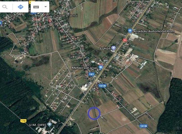 Vanzare teren intravilan Ciolpani, 5.000 mp, comision 0% - imaginea 1