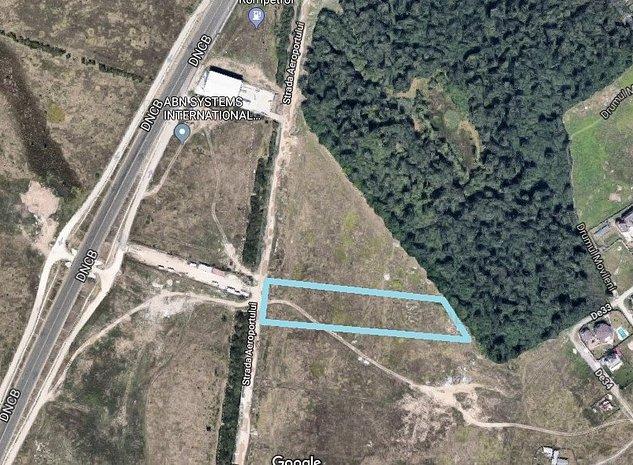 Teren intravilan zona Straulesti, str.  Aeroportului - imaginea 1