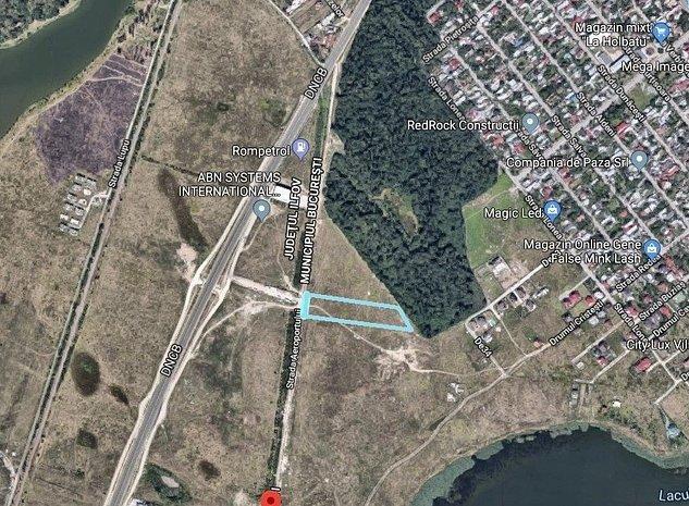 Teren intravilan zona Straulesti, str. Aeroportului, comision 0% - imaginea 1