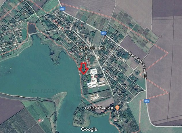 Vanzare teren intravilan, Lacul Sarulesti, 1.000 mp, comision 0% - imaginea 1