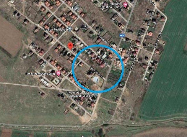 Teren Craiova/Zona Selgros, 576 mp, D: 21 m, Str. Platanului, comision 0% - imaginea 1