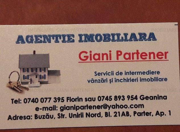 Teren intravilan ideal cartier rezidential-Vernesti Buzau - imaginea 1