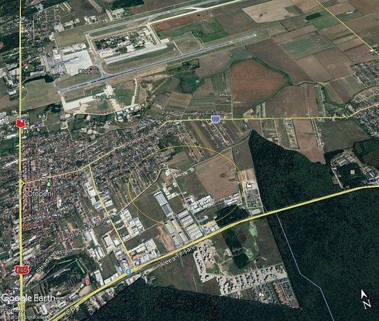 Teren pentru constructii 16000mp, zona est Otopeni - imaginea 1