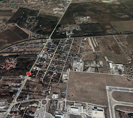 Teren OTOPENI-FERME 1400 mp - imaginea 1