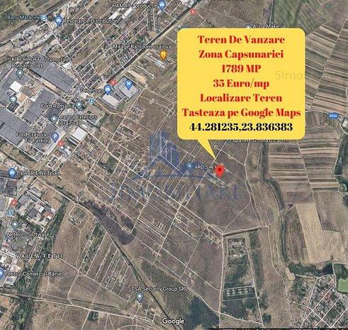 Zona Capsunariei- teren 1789 mp- langa Cartierul Casa Noastra II - imaginea 1