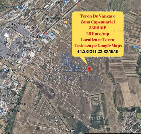 Zona Ford- teren 3500 mp de vanzare- Comision 0% - imaginea 1