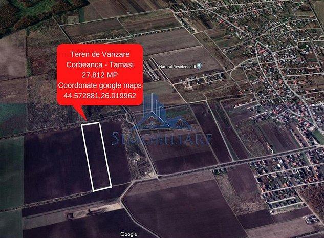 Corbeanca- Oportunitate de Investitie- 27.812 mp - imaginea 1