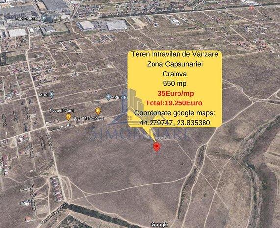 Zona Capsunariei- teren intravilan de vanzare - 5 loturi au fost deja vandute. N - imaginea 1