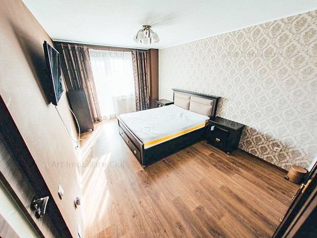 Apartament 2 camere, 60 mp, bloc nou mobilat modern, parcare, terasa, in Marasti - imaginea 1