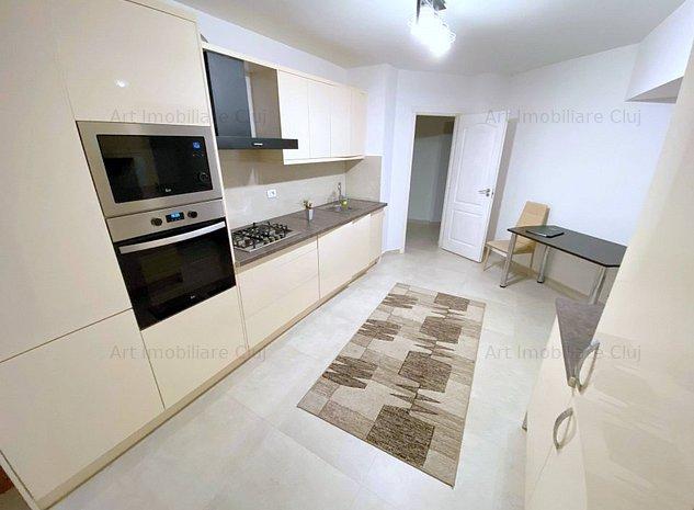 2 camere, decomandate, 60 mp, mobilat modern, in Marasti, zona Piata Marasti - imaginea 1