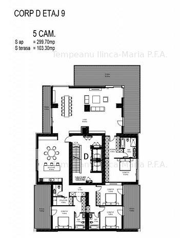 AVIATIEI - Herastrau vanzare penthouse 403 mp 5 camere - imaginea 2