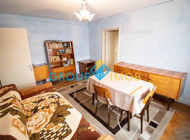 2 camere, 48 mp utili + balcon, Centrala, PVC - Cornisa - imaginea 1