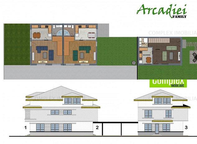 Vila duplex , 3 camere , living si 4 bai - imaginea 1