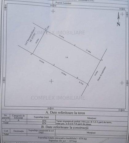 Teren constructii - imaginea 1