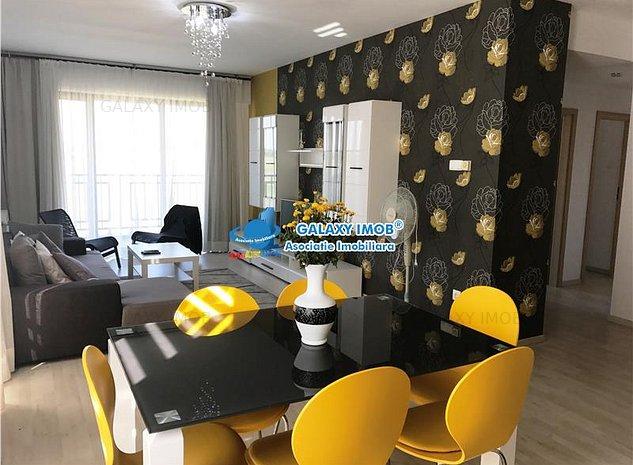 Oferta inchiriere apartament 3 camere Ploiesti, zona Albert - imaginea 1