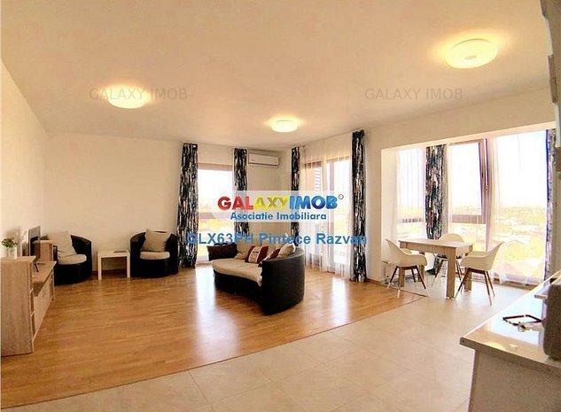 Tur virtual! Apartament 3 camere, 98 mp, ultracentral, Ploiesti - imaginea 1