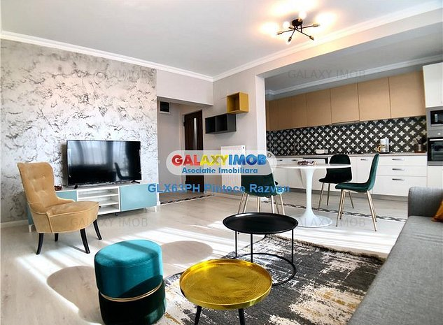 Apartament 3 camere, de lux, prima inchiriere zona Albert, Ploiesti - imaginea 1