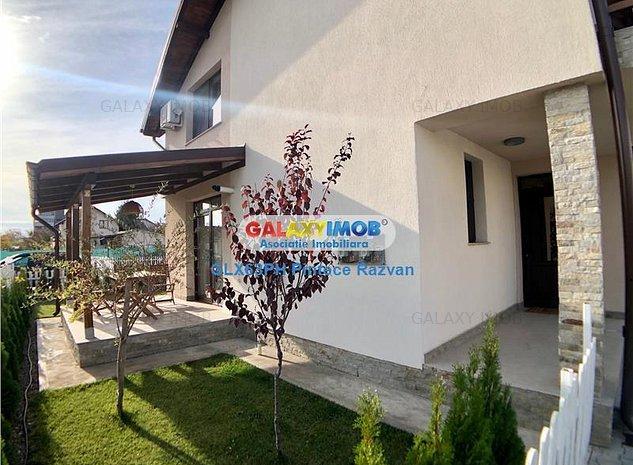 Vila de lux, 3 camere, curte proprie, zona Albert, Ploiesti - imaginea 1