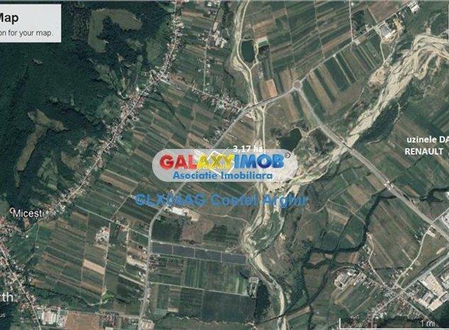 Vindem teren intravilan industrial zona uzina Dacia 3.17 ha - imaginea 1