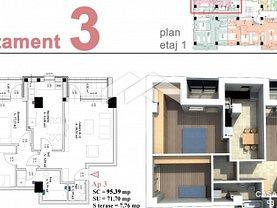 Apartament de vânzare 3 camere, în Pitesti, zona Prelungirea Craiovei