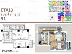 Apartament de vânzare 2 camere, în Pitesti, zona Big-Bascov