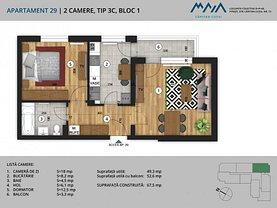 Apartament de vânzare 2 camere, în Piteşti, zona Negru Vodă