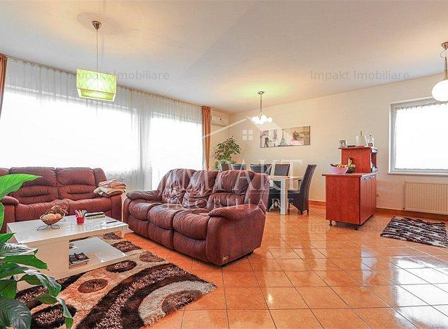 Apartament 3 camere Andrei Muresanu, 94 mp, panorama de exceptie - imaginea 1