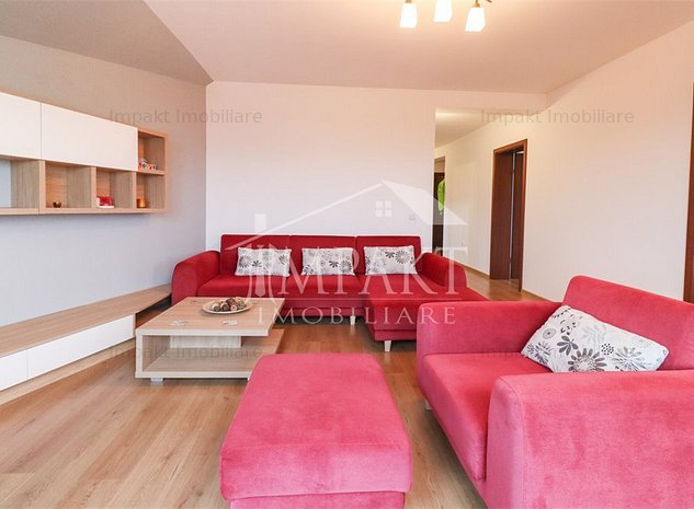 Apartament 3 camere incantator Grigorescu, 90 mp, parcare privata - imaginea 1