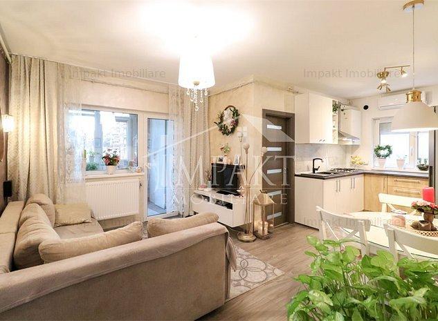 Apartament 3 camere splendid in cartierul Borhanci - imaginea 1