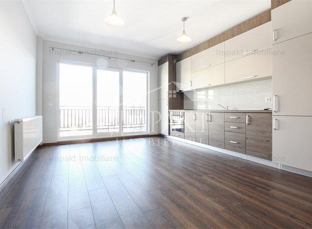 Apartament 2 camere Europa, 55 mp, parcare subterana - imaginea 1