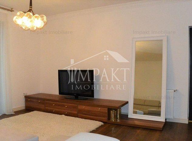Apartament ultrafinisat 3 camere, parcare subterana, prima inchiriere! - imaginea 1