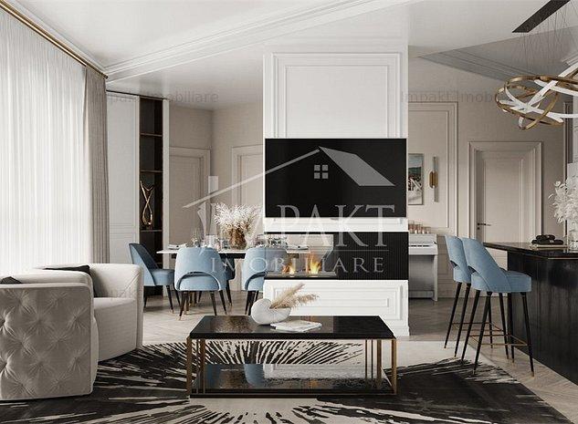 Apartament cu 3 camere Grigorescu cu DESIGN unic si panorama splendida ! - imaginea 1