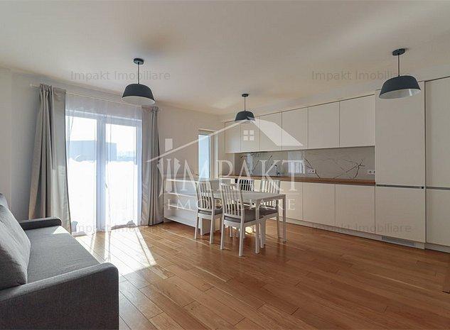 Apartament cu 2 camere ultrafinisat, zona Calea Turzii! - imaginea 1