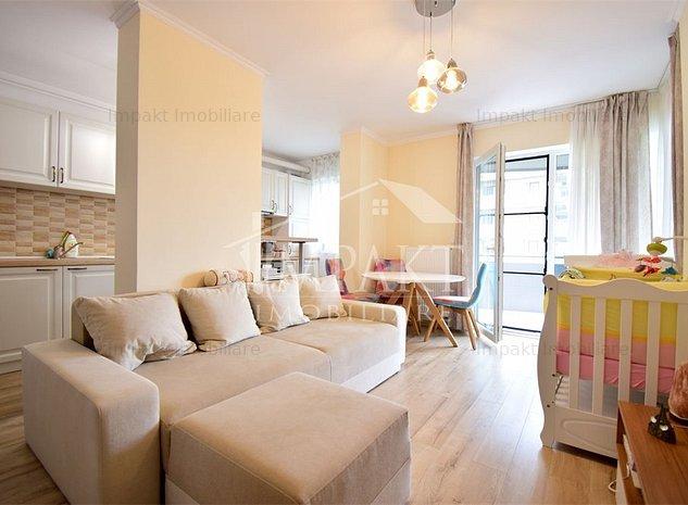 Apartament cu 2 camere in cartierul Sopor! - imaginea 1