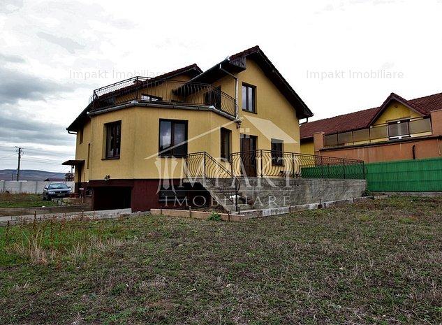 Casa individuala 5 camere Gilau cu teren de 1500 mp, Comision 0% - imaginea 1