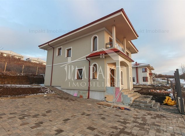 Casa individuala 4 camere Borhanci, gradina de 411 mp, view deosebit - imaginea 1
